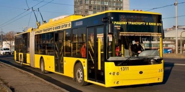 Столичный троллейбус соединит аэропорт и вокзал