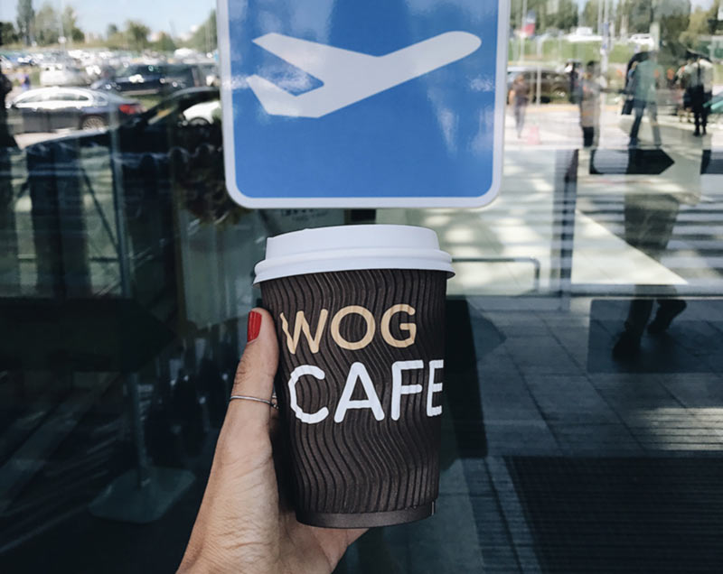 WOG CAFE вскоре откроется в аэропорту «Борисполь»
