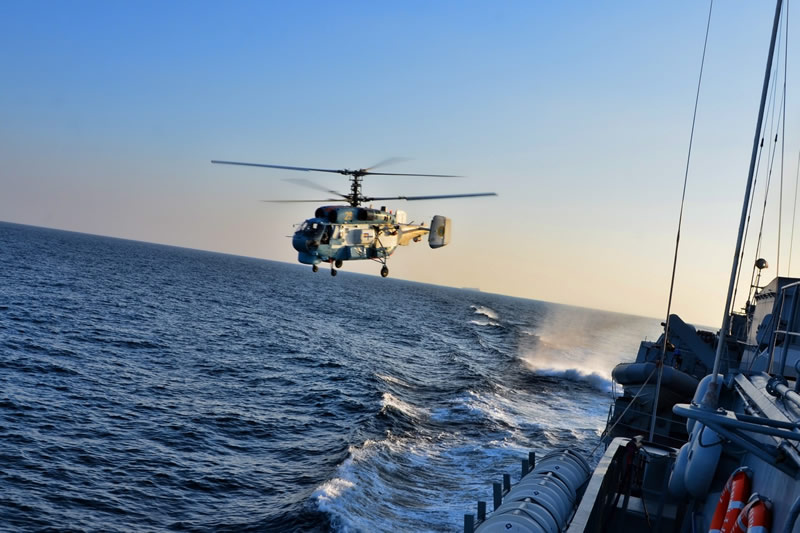 Морская авиабригада празднует юбилей