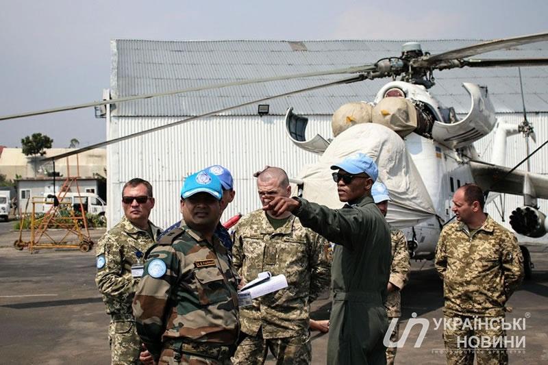 Инспекторы Миссии ООН в ДР Конго проверили боеготовность украинских миротворцев
