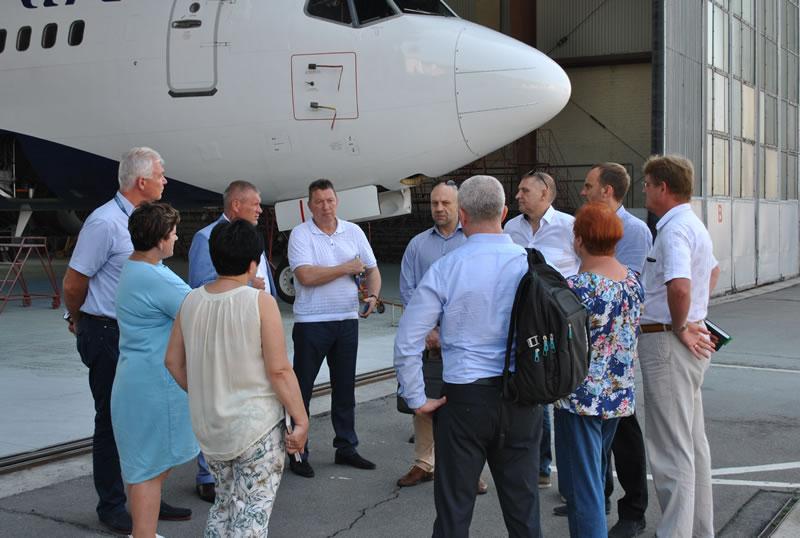 "Представители ""Завода 410 ГА"" и МАУ обсудили перспективы сотрудничества"