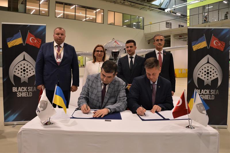 Украина и Турция создали совместное предприятие в сфере высокоточного оружия и аэрокосмических технологий
