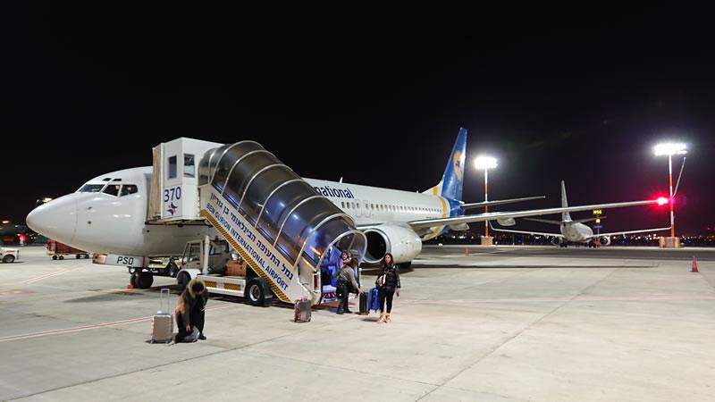 МАУ вошла в ТОП-10 авиакомпаний Израиля