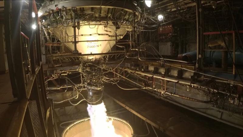 Испытания ракеты-носителя «Циклон-4» прошли успешно