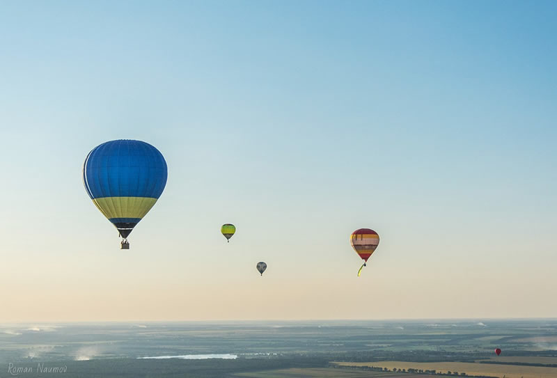 Ко Дню Независимости состоится фестиваль воздушных шаров