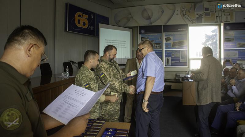 Министерство обороны наградило разработчиков БПЛА Spectator-М1