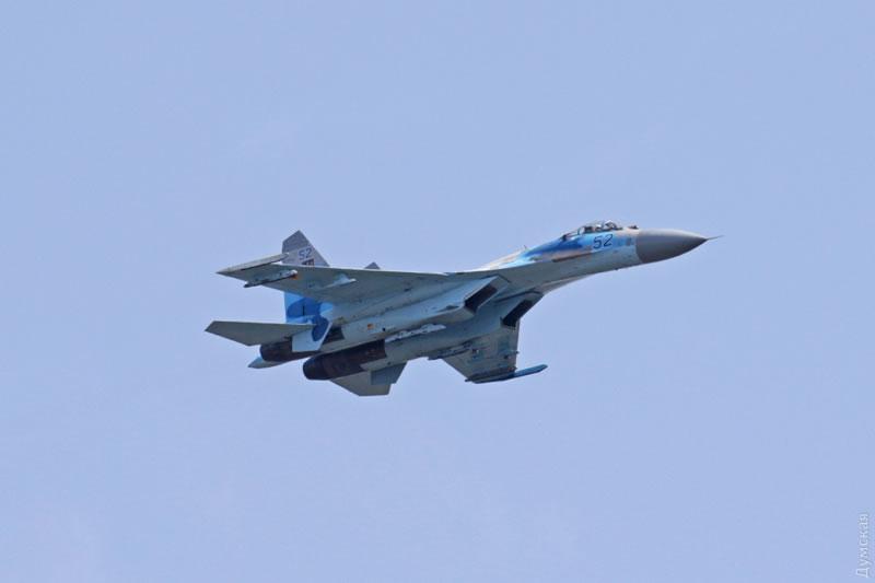 Су-27 поднимали по тревоге в Одессе