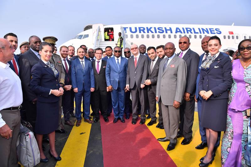 Авиакомпания Turkish Airlines добавила Пуэнт-Нуар (Республика Конго) в свою сеть маршрутов