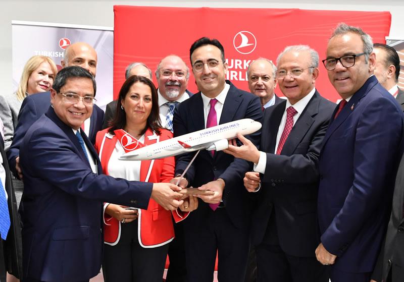 Авиакомпания Turkish Airlines добавила в свою сеть маршрутов два направления американского континента: Мехико и Канкун