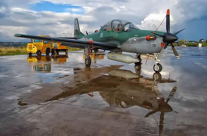 Делегация Воздушных Сил в Бразилии оценила Super Tucano