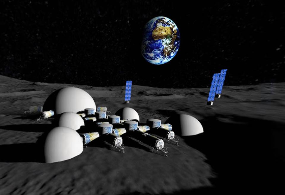 Лунная промышленно-исследовательская база КБ «Южное»