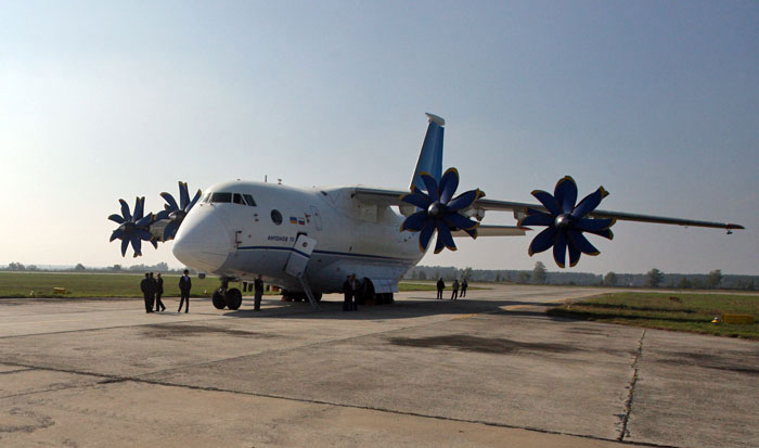 Ан-70 совершил первый испытательный полет после модернизации