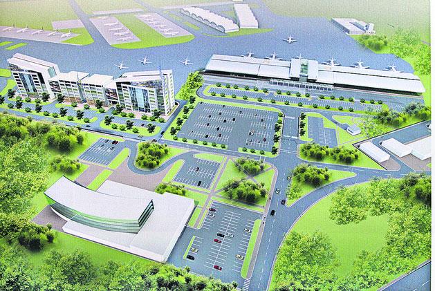 """Каким будет новый терминал аэропорта """"Жуляны"""""""