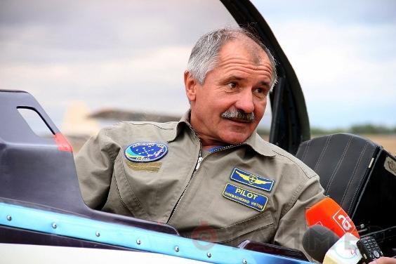 Пасмурная погода в Одессе не помешала проведению ежегодного авиашоу