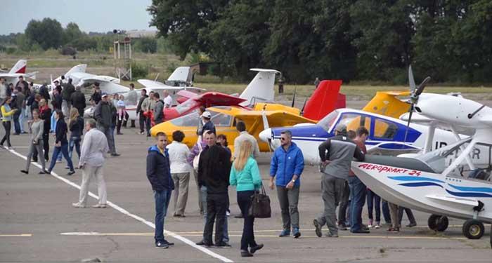 В Черкассах во второй раз состоялся авиафестиваль