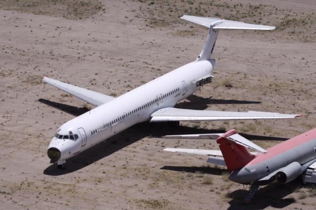 Новая жизнь самолетов со свалки: история Родрига Мерхежа