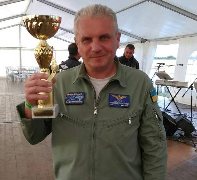 Александр Оксанченко победил на авиашоу «Czech International Air Fest-2017»