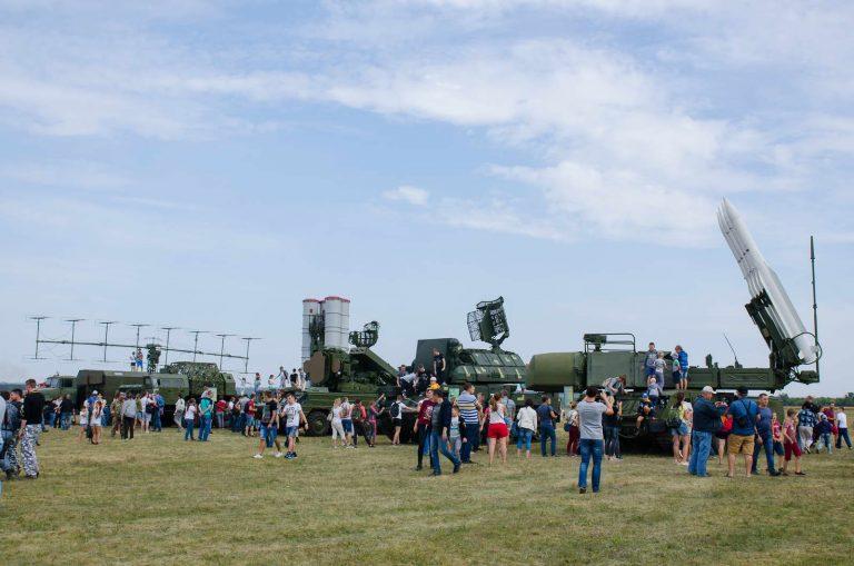 Военнослужащие ХНУВС приняли участие в «Авиаfest-2018»