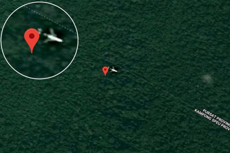 Британец считает, что нашел пропавший малайзийский Boeing