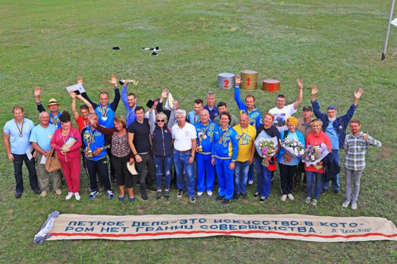 В Гидропорту завершился чемпионат Украины по высшему пилотажу