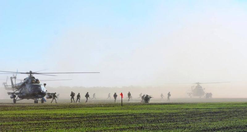 «Козацкая воля - 2018»: армейская авиация в действии