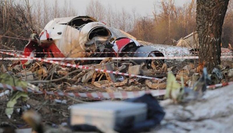 Польша в ПАСЕ потребует от России вернуть обломки самолета Качиньского