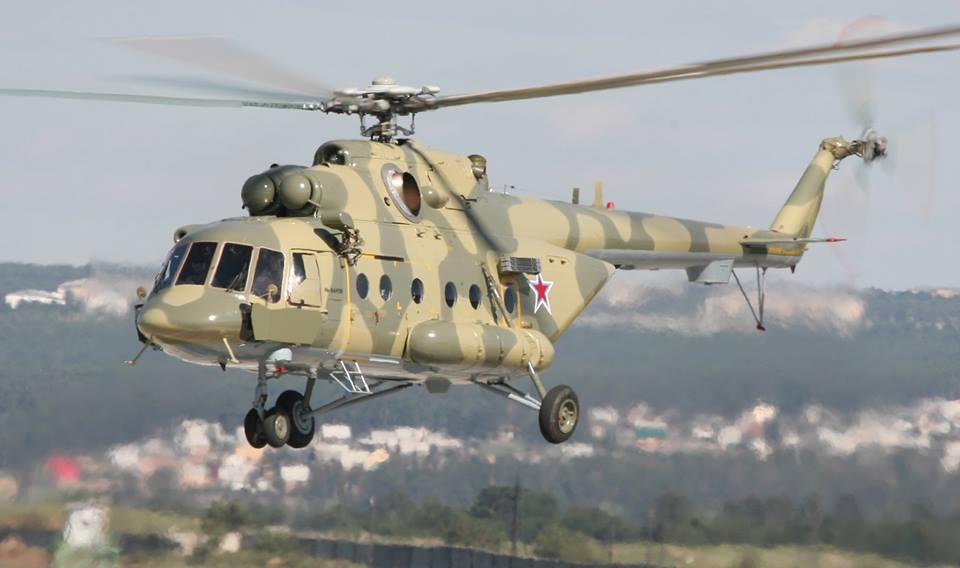 В Приднестровье потерпел крушение военный вертолет Ми-8