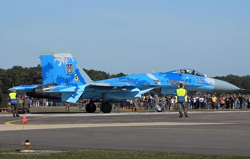 Су-27 на International Sanicole Airshow - 2019
