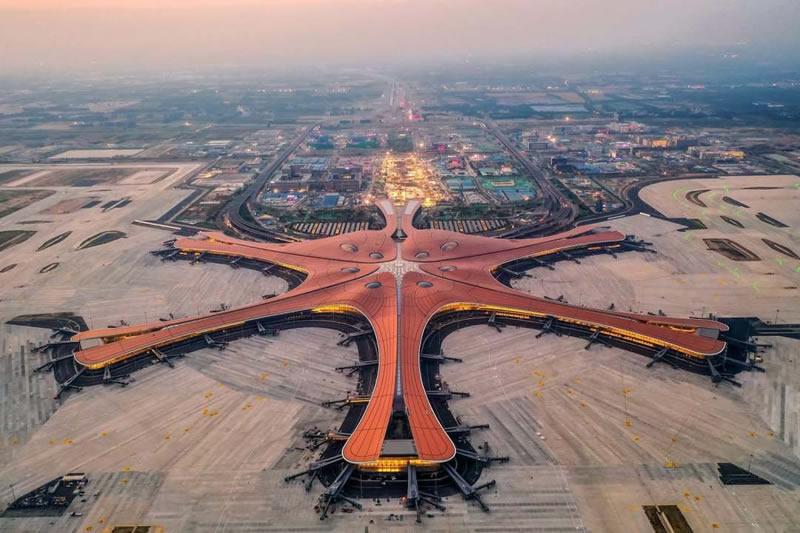 Открыт крупнейший в мире аэропорт Дасин