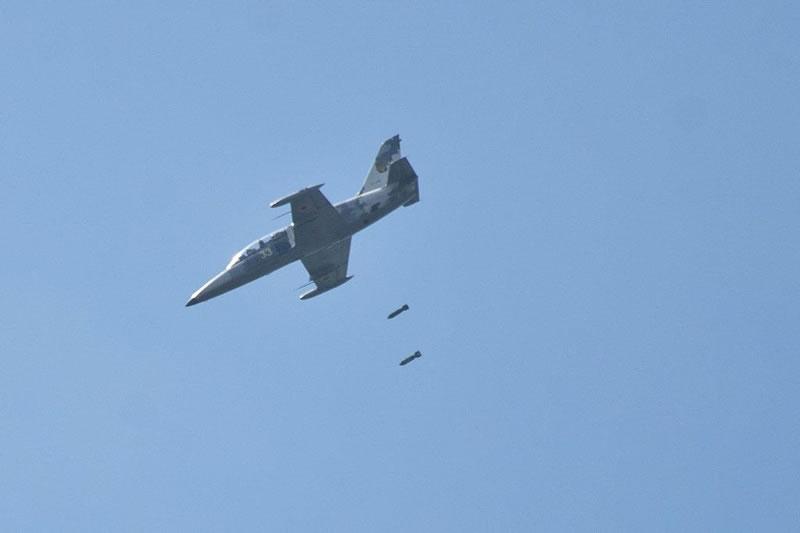 Начались летно-тактические учения на базе учебной авиационной бригады ХНУВС