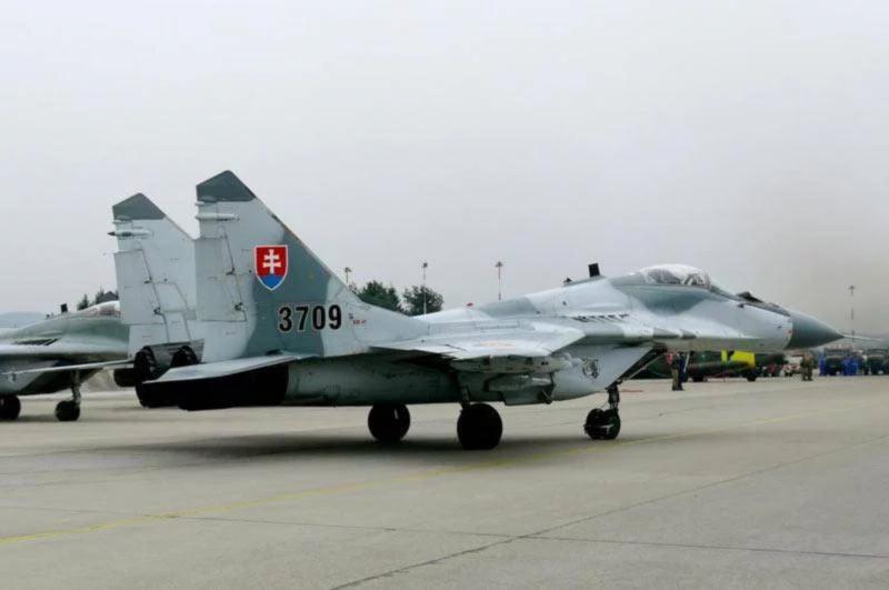 Cловакия приостановила полеты МиГ-29