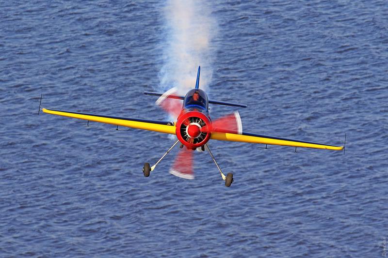 На Бузовой состоялся чемпионат Украины по высшему пилотажу