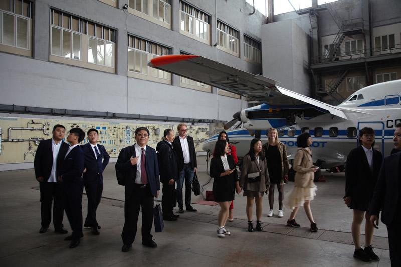 НАУ посетила китайская делегация
