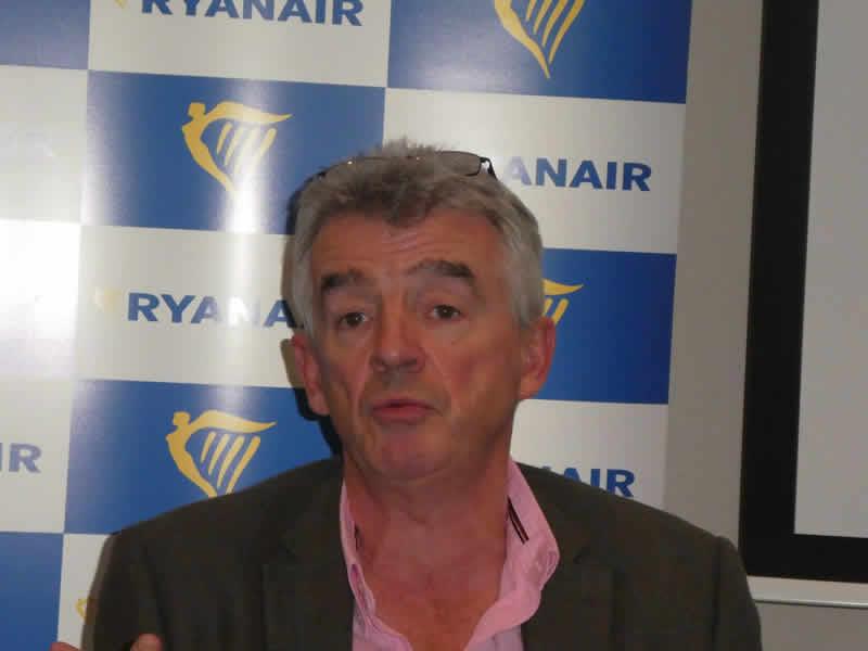 Майкл О'Лири покинул пост CEO Ryanair