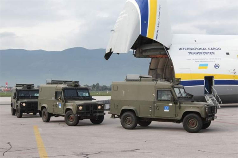 Украинский «Руслан» поработал на Балканах