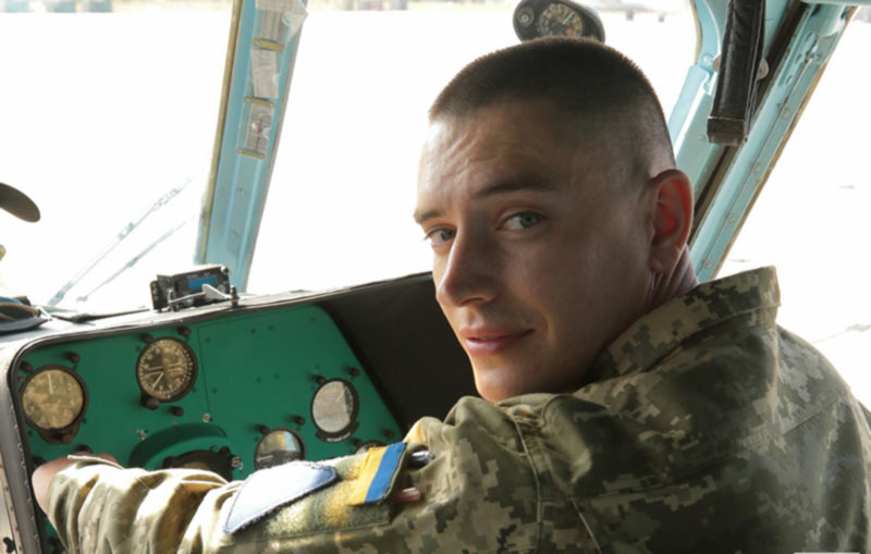 Сразу после выпуска лейтенант Шевчук полетел в район боевых действий
