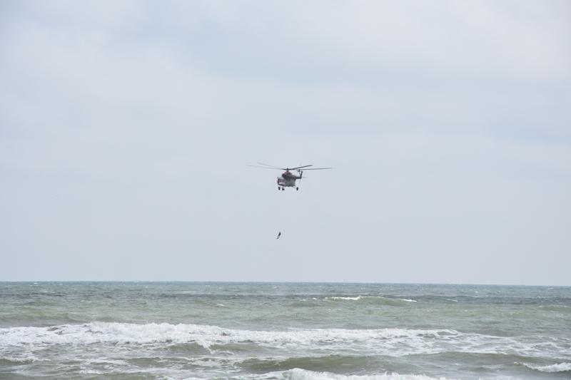 В Одессе прошли тренировочные сборы авиационных спасателей