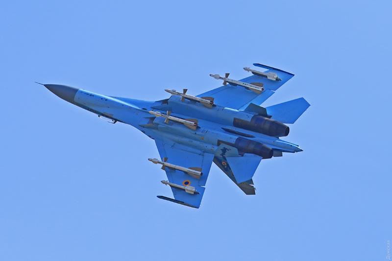 Небо Одессы защищают уже четыре истребителя