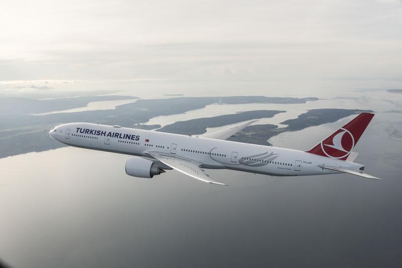В августе авиакомпания Turkish Airlines достигла коэффициента занятости пассажирских кресел 84,8%