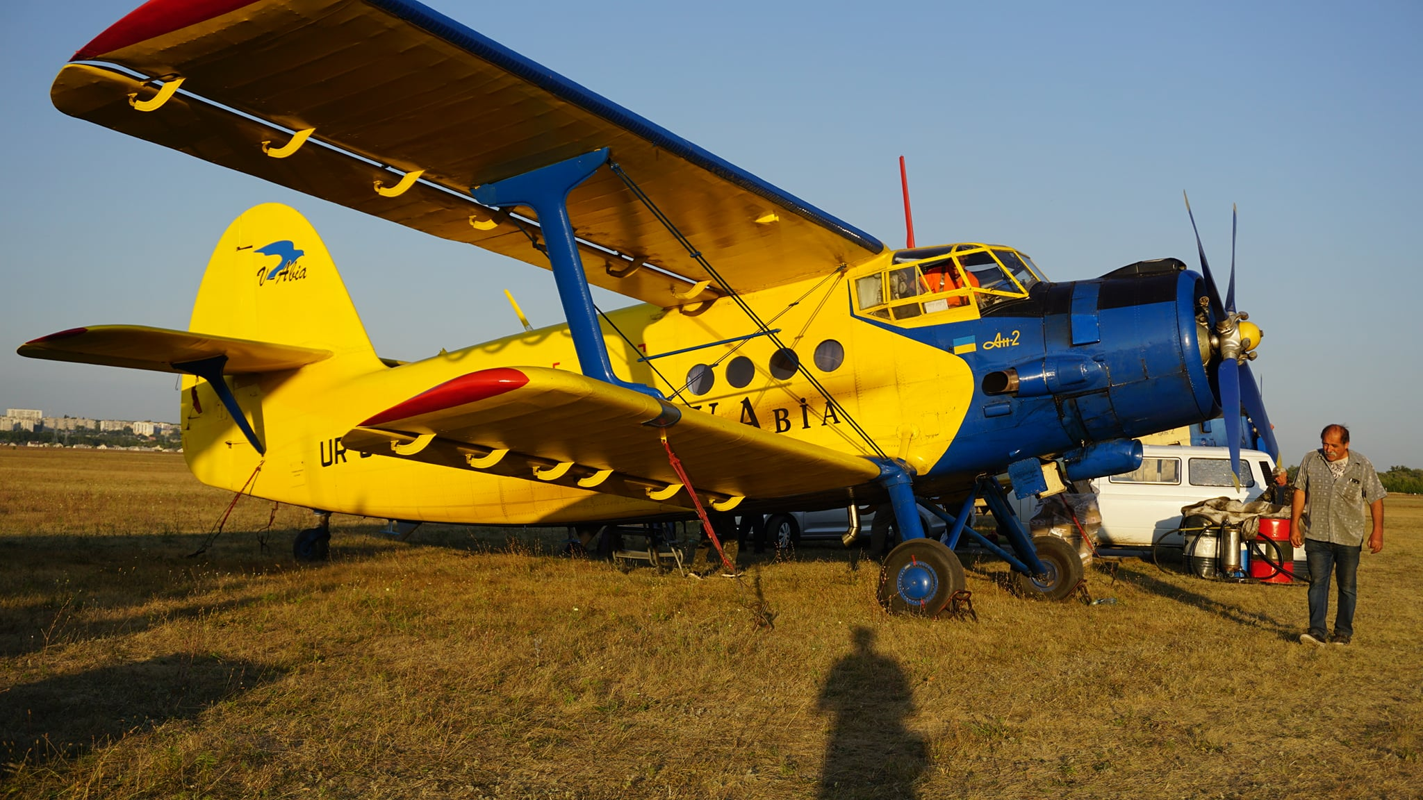 Самолеты Харьковского аэроклуба выполнили работу по иммунизации мясоедных животных