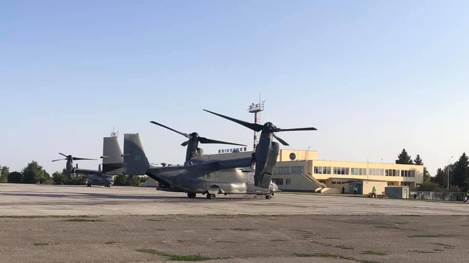 В Гавришевке развернуто подразделение американской авиации