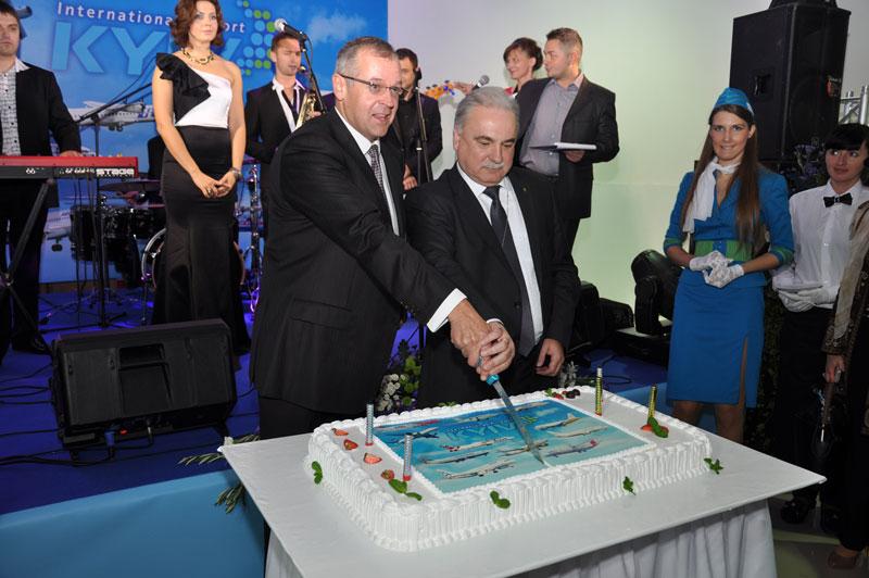 В аэропорту Киев открылся новый терминал