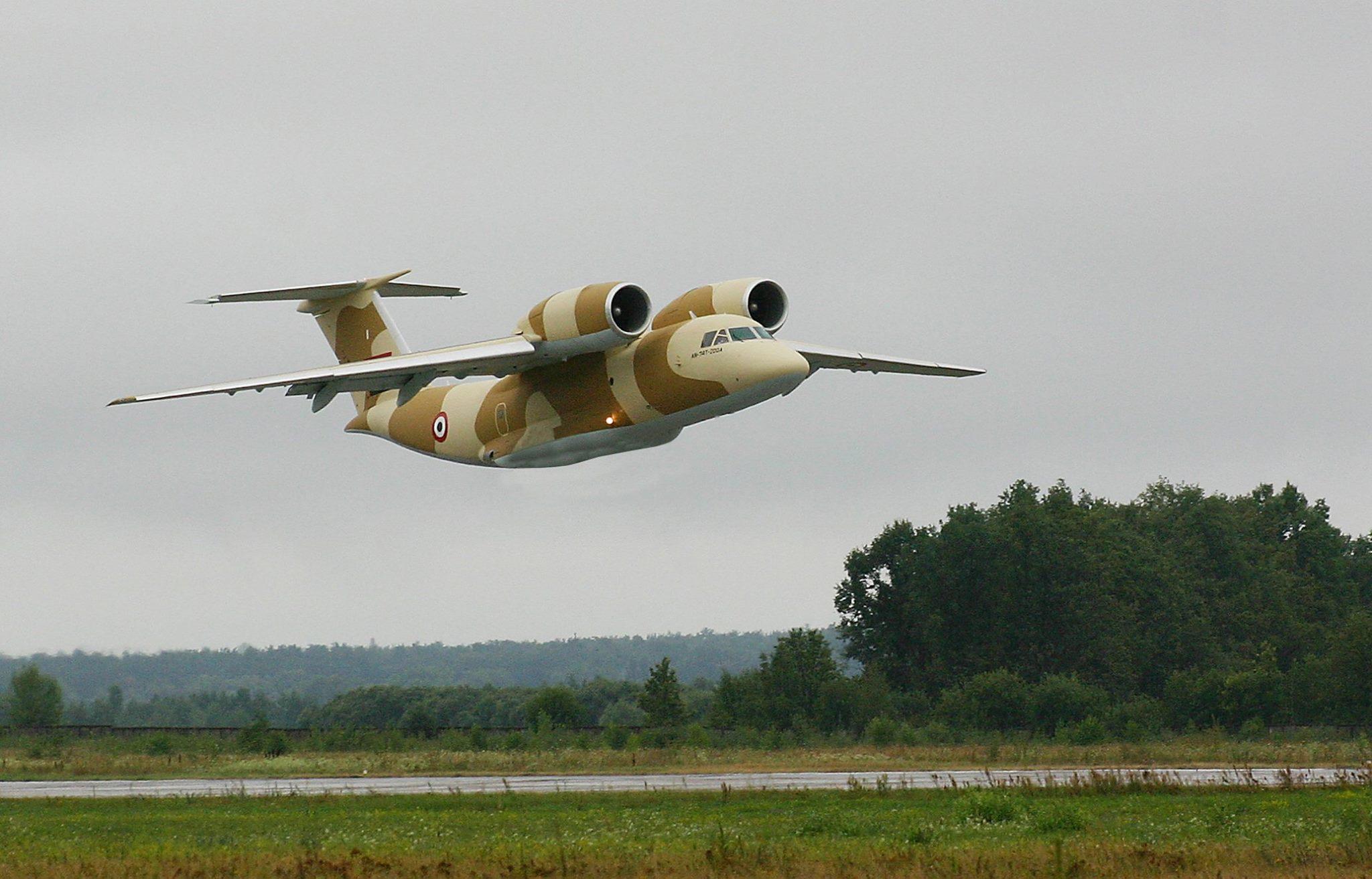 В Харькове для Египта провели техобслуживание самолета Ан-74