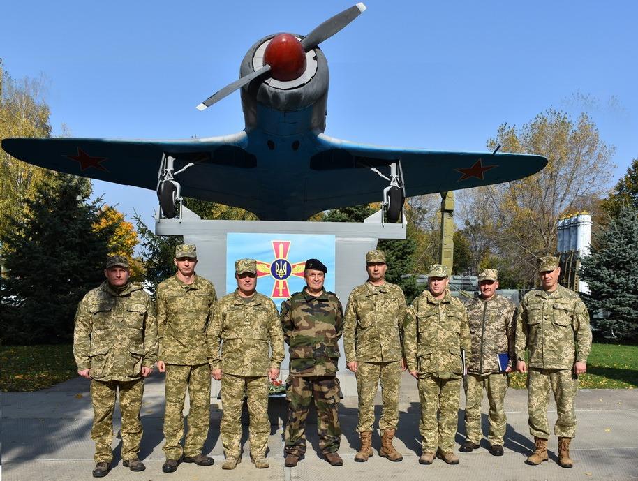 В Виннице обсудили вопросы сотрудничества Воздушных Сил ВС Украины с Вооруженными силами стран НАТО