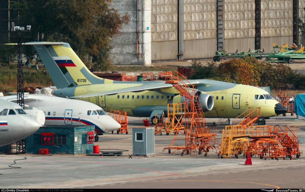 В России собран последний Ан-148-100Е