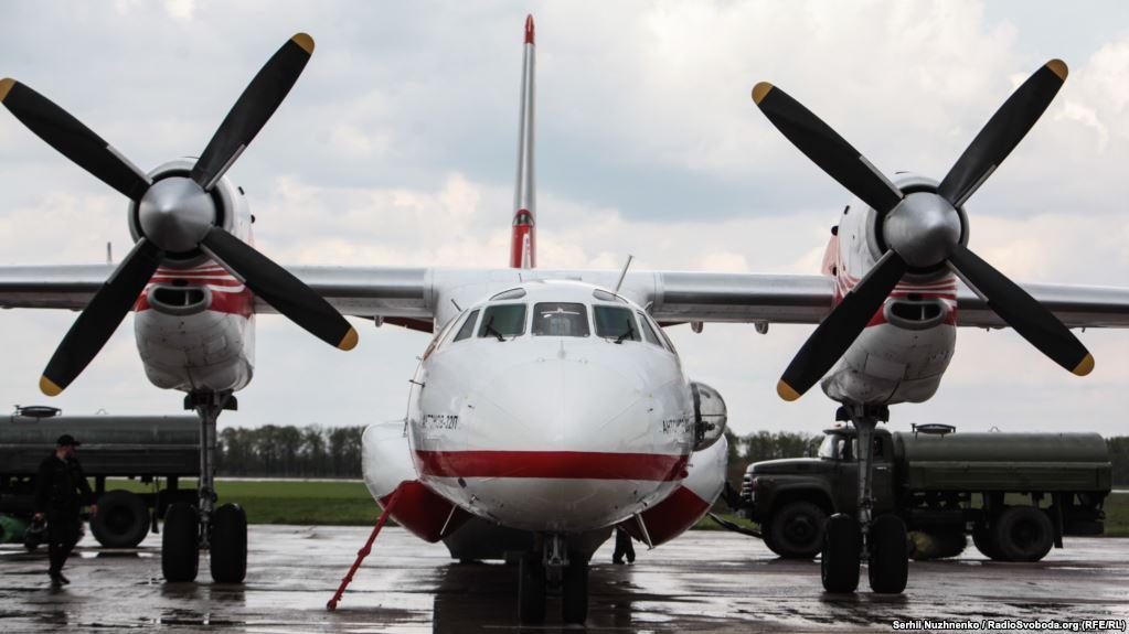 Ан-32 ГСЧС принял участие в спасательной операции