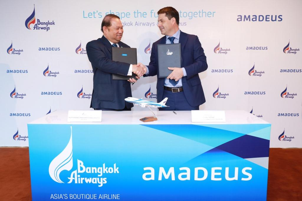 Bangkok Airways стала партнёром Amadeus