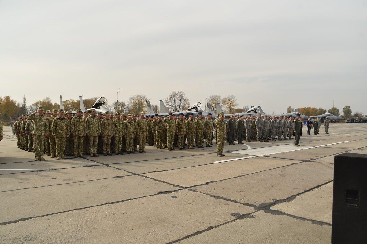 В Украине завершились многонациональные учения