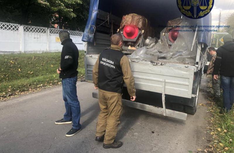Военная прокуратура предотвратила хищение авиадвигателей