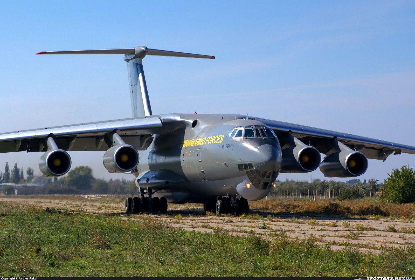 В Мелитопольской авиабригаде появился еще один отремонтированный Ил